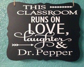 Personlized Teacher Sign