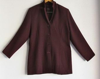 Plus Size Vintage Blazer