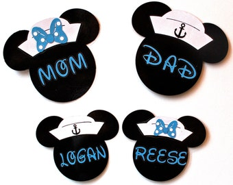 Personalized Disney Cruise Stateroom Door Magnets