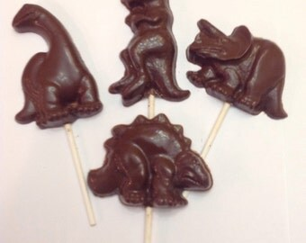 30 Dinosaur Chocolate pops