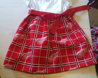 Red Wings Baby Dress