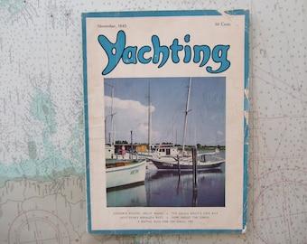 Yachting Magazine ~ November, 1945