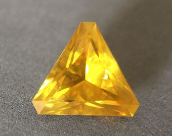 14.37 Golden Yellow Sphalerite Trillion