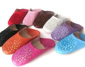 Women  shoes for house,Chausson en cuir ,Shoe leather,ugg , ugg slippers ,Pantoufles (sabots),Leather Slippers