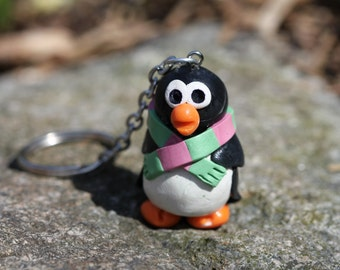 Handcrafted Penguin Charm
