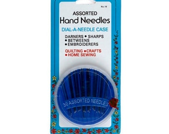 30 Hand Needle Assortment Dial-A-Needle by Collins C16