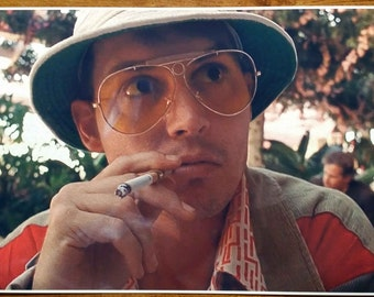 """Fear and Loathing in Las Vegas Raoul Duke """" 36x24"""" Digital Painting Movie Poster"""