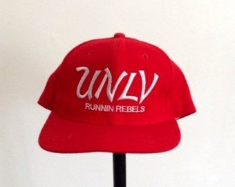 UNLV 90s Runnin Rebels throwback snapback hat
