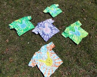 Custom Tie Dye Bunny Shirt