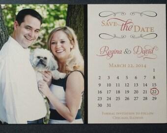 Printable Photo Wedding Save the Date