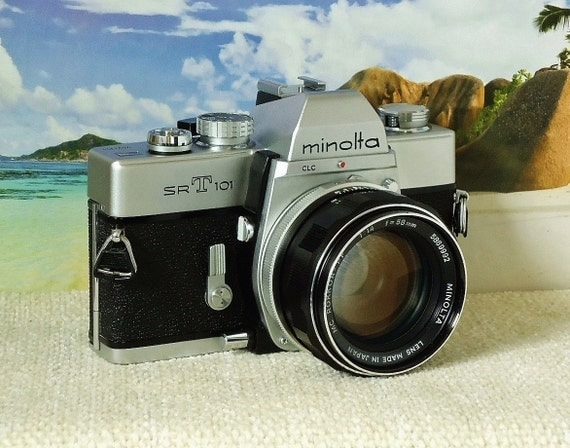minolta camera srt 101 manual