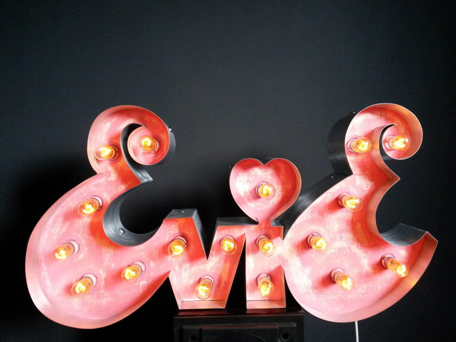 Marquee Light Up Letter Custom Signs