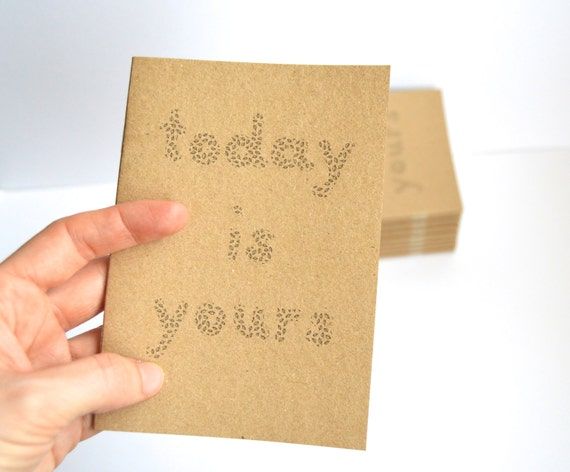 Today is yours - Motivational notebooks that will inspire you // The PumpUp Blog