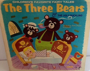 The Three Bears & The Ugly Duckling LP 1963 No. 5052