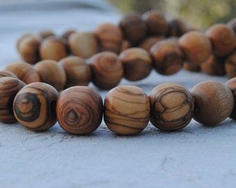 Olive Wood  Necklace