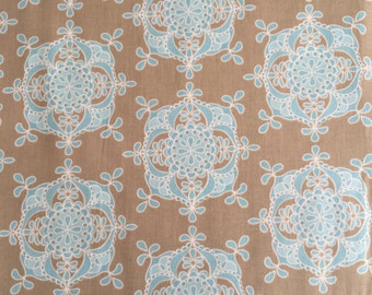 Riley Blake Fabric - Priscilla - Blue