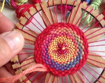 Circle Weaving Loom Kit