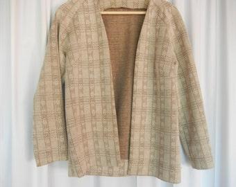 womens polyester jersey  print jacket