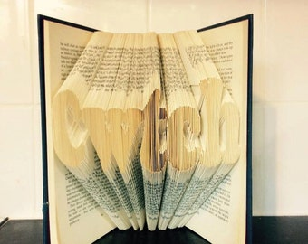 Welsh Cwtch Book Folding/art Pattern