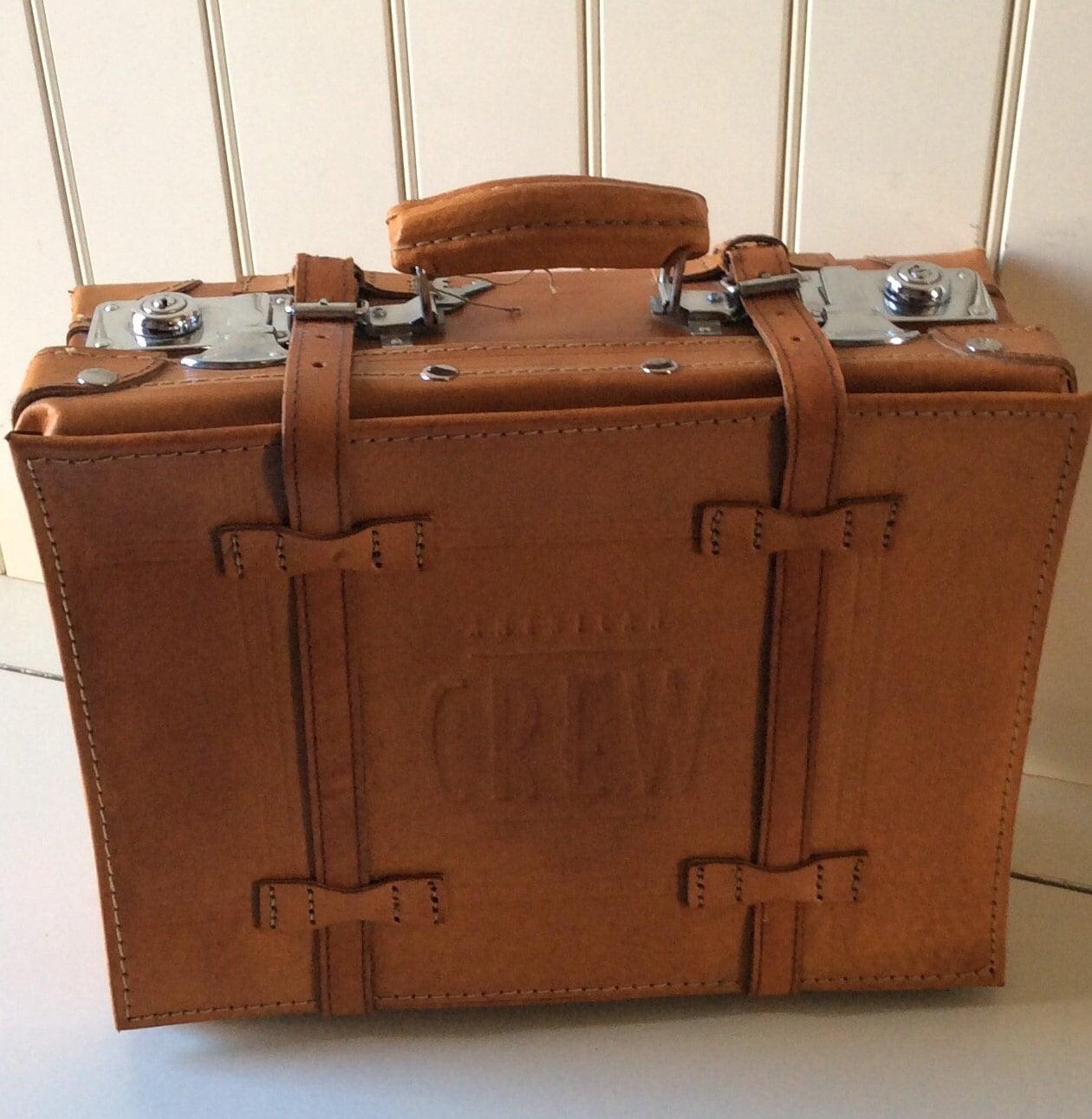 Vintage american crew valise vintage grooming valise vintage - Valise carton vintage ...