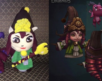 League of Legends Lulu Plush and Dragon