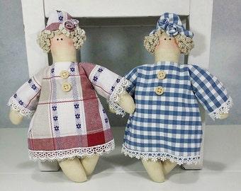 Sweet dolls like Tilda style