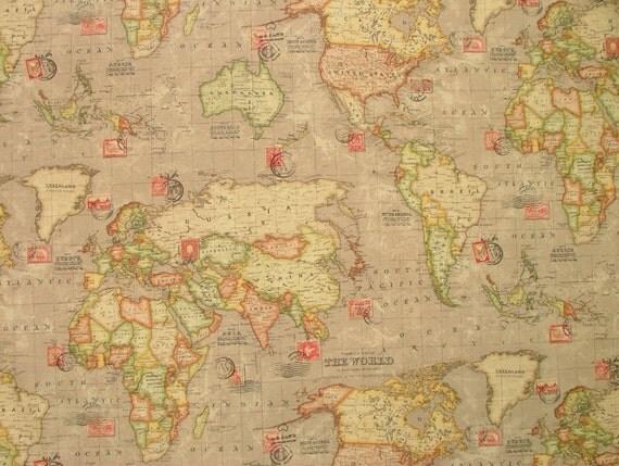 Vintage World Atlas 63