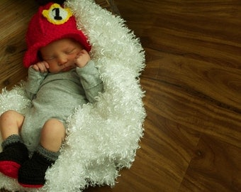 Newborn Firefighter Outfit- Made to Order