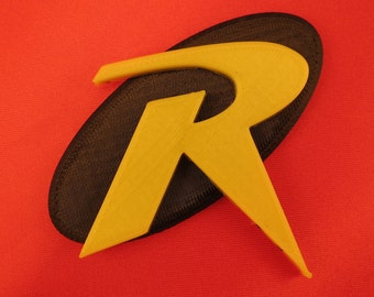 Robin (Tim Drake) 3D Printed Cosplay Insignia