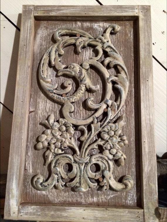 Wrought iron, Wall art, Metal, Iron, Frame, Rustic, Birds of ...
