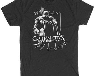 Batman Shirt- Men's Gotham City T-Shirt in Sizes Small-3XLarge