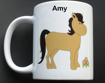 Personalised Pony - Horse Mug