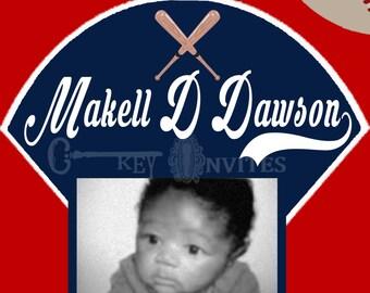 Angels Baseball Baby Announcement