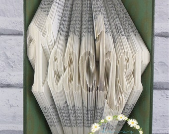 Book Folding Pattern 'Teacher' PDF Pattern With Tutorial (281 Folds) Instant Download