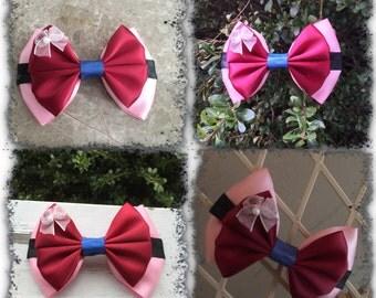 mulan hair bow