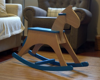 Wooden horse (wooden rocking horse)