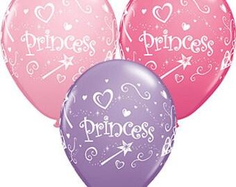 Princess Party   Balloons   Princess Balloons   Party Balloons   Pink and Purple Balloons   Pink Balloons   Happy Birthday   Birthday Party