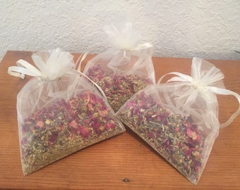 Lavender Rose Tub Tea - Set of 3 Bags