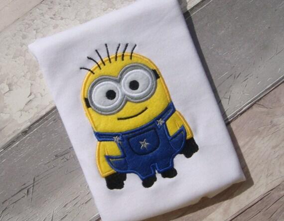 minion machine embroidery design