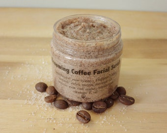 All Natural Renewing Coffee Facial Scrub