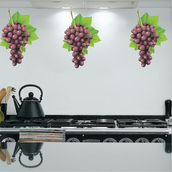 Grape Decor: Grape Decals Grape Vine Wall Decor Grape Wall Murals