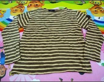 Womens Saint James Striped Shirt xxs size made in france