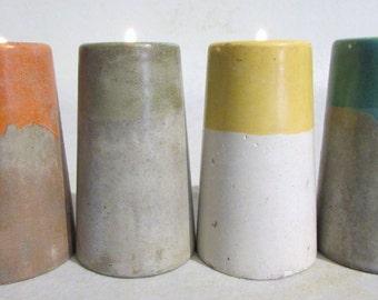 Handcrafted Pillar Tealight Candleholder