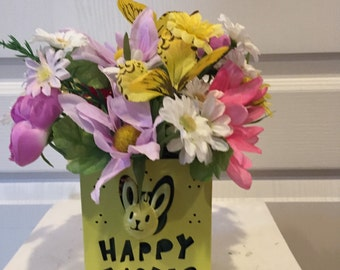 Easter Tin Floral Arrangement