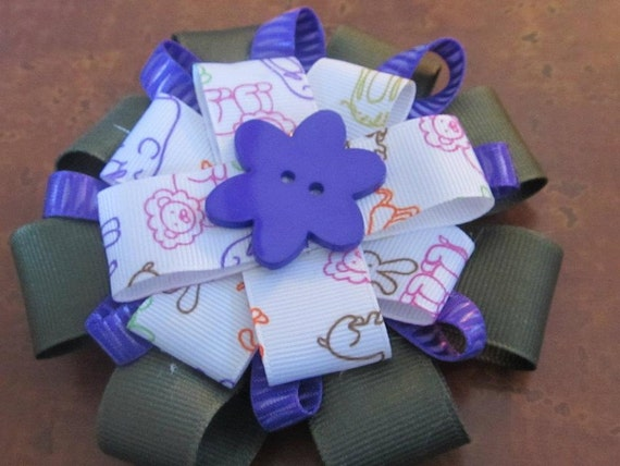 Hair Bow Center Buttons 97