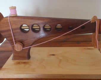 Toy sewing machine - solid wood.
