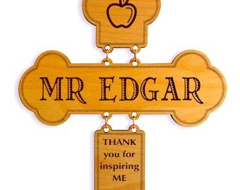 Thank you Teacher Gift , Teacher Appreciation Gift , Teacher Decorative Cross Gift ,Teacher Appreciation Week, Special Teacher Keepsake.