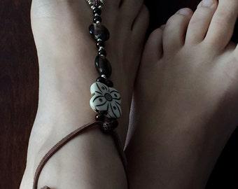 Sandal bare foot, sandal barefoot, foot jewelry, footless sandals, foot jewelery, barefoot sandals.
