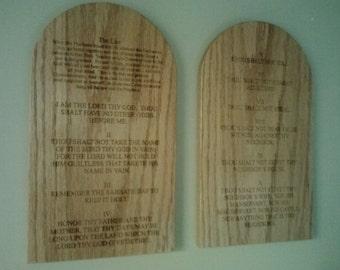 Ten Commandments Wall Art