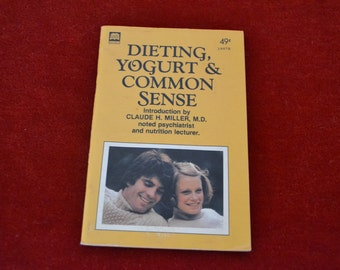 "Vintage 1977 Guide Books ""Dieting, Yogurt & Common Sense"""